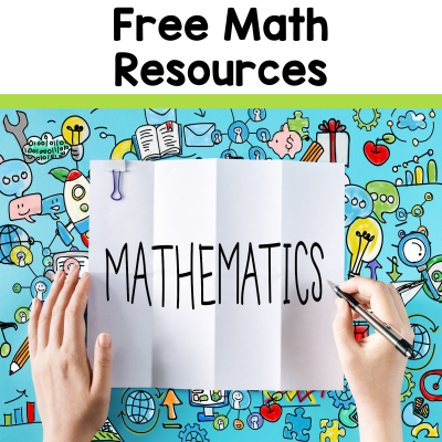 A list of free math resources to support math classrooms from 2 Peas and a Dog. #math #mathlessons #freelessons #freemathlessons