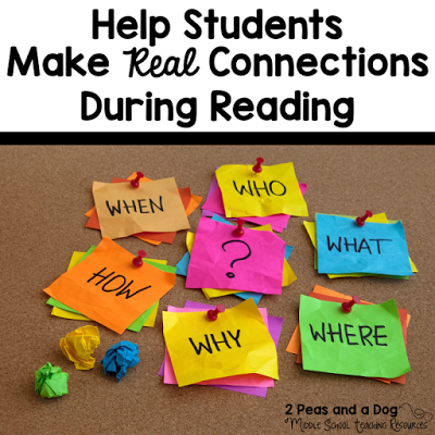Making connections is a key reading strategy that can often be misused or overlooked. When used effectively it can be a great resource to help students understand their reading. Read about how to effectively use this strategy in your classroom from the 2 Peas and a Dog blog.