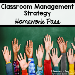 The Magic of a Homework Pass for Classroom Management