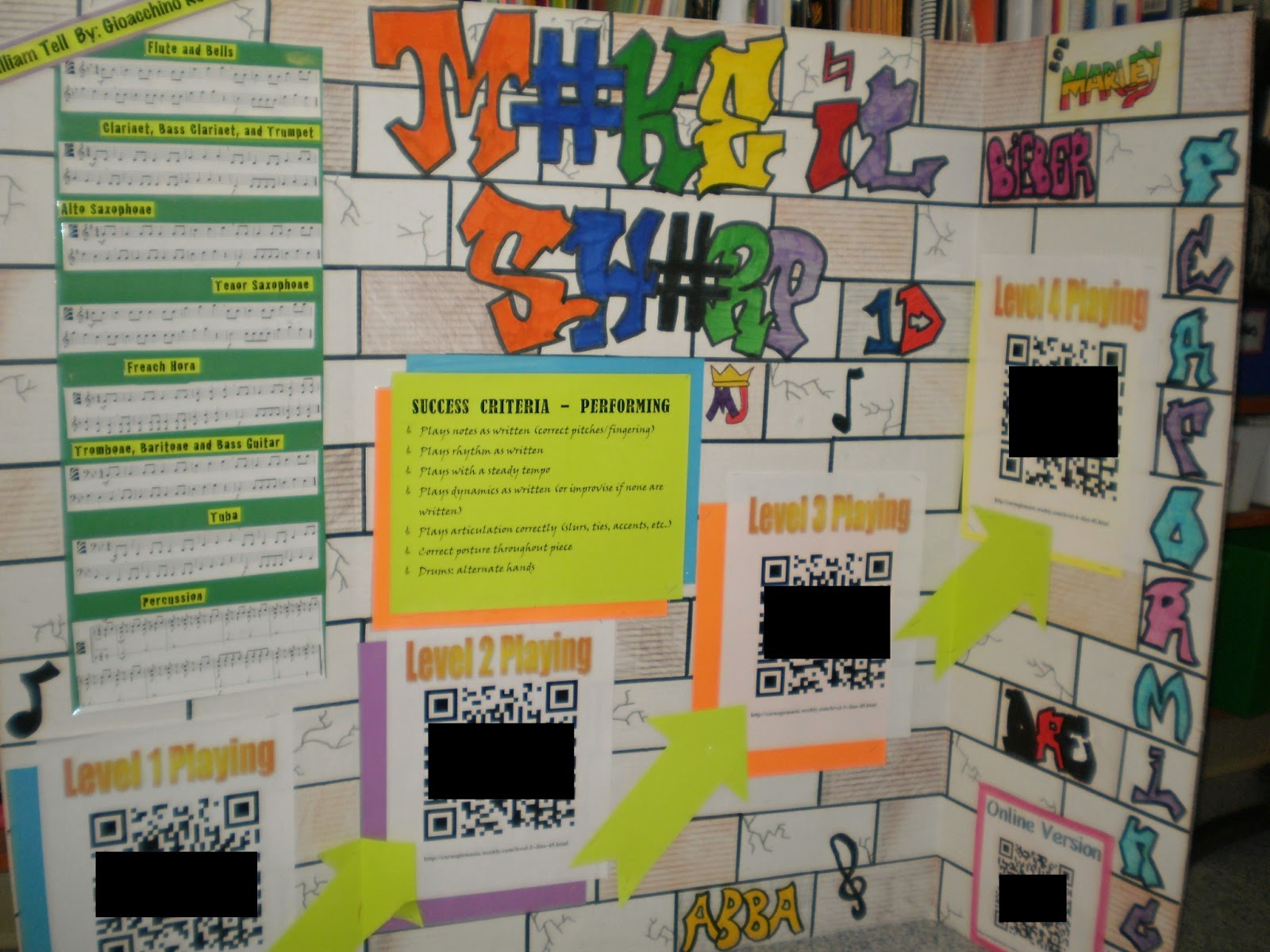 Increase student achievement by using bump it up boards as an effective instructional strategy from the 2 Peas and a Dog blog.
