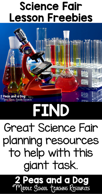 2 great Science Fair planning resources to help with this giant task.