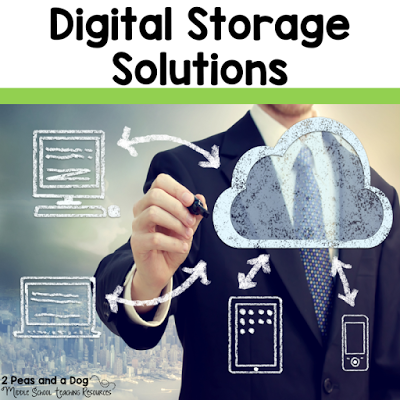 Good bye floppy disks, CD-Roms and USB sticks. The 21st Century teacher uses digital storage solutions to create, edit and store their documents and teaching lessons from the 2 Peas and a Dog blog.