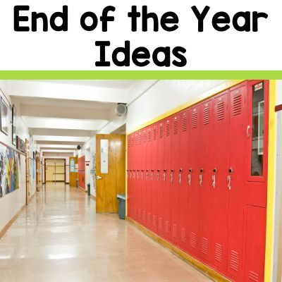 Useful tips and lesson ideas for middle school teachers for ending the school year without chaos and confusion from the 2 Peas and a Dog blog.