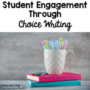 Student Engagement Through Choice Writing