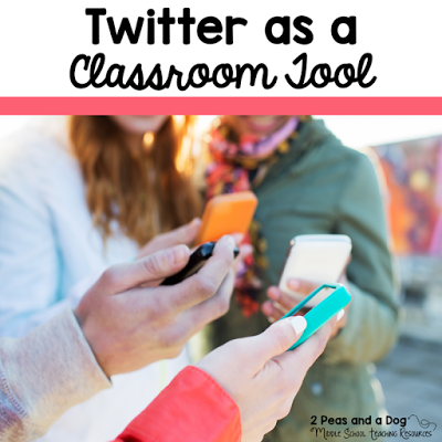 Twitter can be a useful social media tool for your classroom. 6 reasons to use Twitter in your school by the 2 Peas and a Dog blog.
