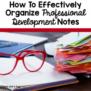 Managing the Professional Development Paper Overload