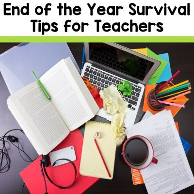 End of the Year Tips for Teachers. 3 tips for keeping the middle school classroom calm and student engaged during the last few weeks of school from the 2 Peas and a Dog blog.