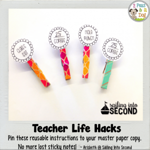 Teacher Life Hack Photocopying Tips