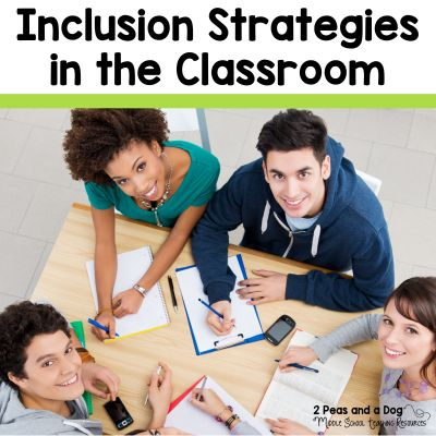 Help all students be successful with these ready to use inclusion (special education) ideas for the ELA classroom.
