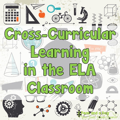It is important to keep learners engaged in their ELA subject material by creating cross-curricular lessons. Students are more likely to see a purpose for their learning if it can be used in other classes from 2 Peas and a Dog.