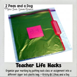 Teacher Life Hacks