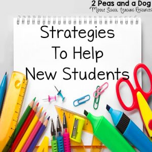 Strategies To Help New Students