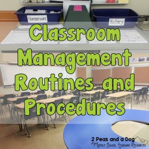Classroom Management Routines and Procedures For Middle and High School Classrooms