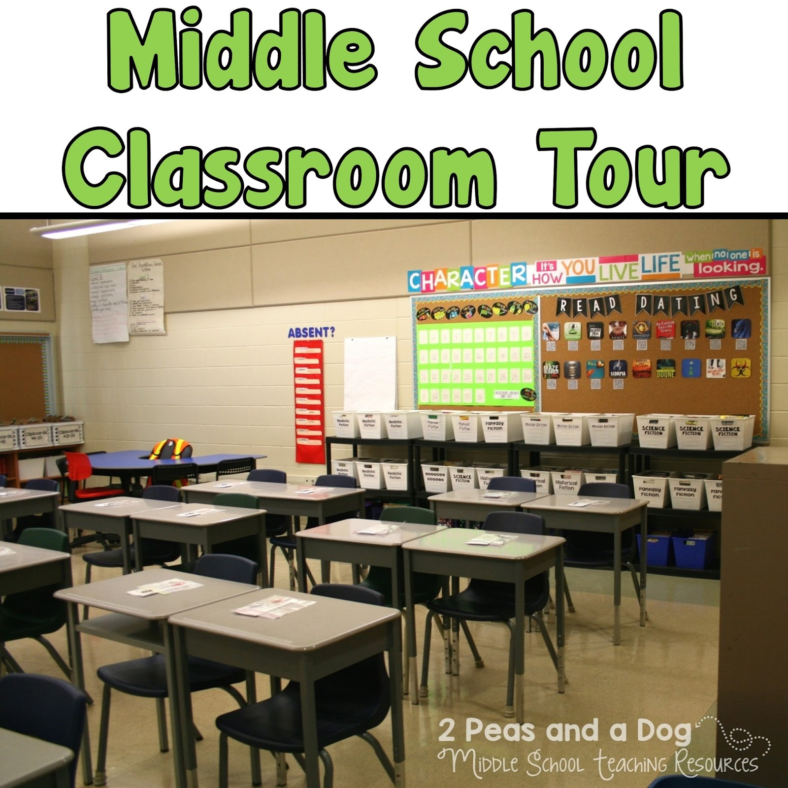 Classroom Setting Ideas ~ Middle school classroom set up ideas peas and a dog