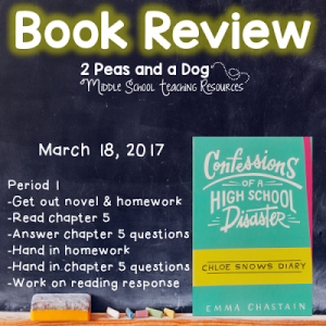 Book Review Confessions of a High School Disaster