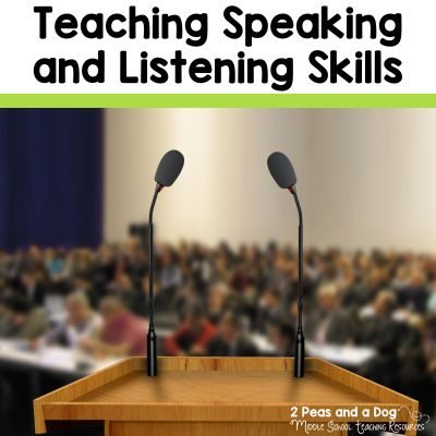 Teaching students valuable and relevant speaking and listening skills is crucial for their future success. Once students leave our classrooms they will need to be able to carefully articulate their thoughts and opinions to various audiences. Read this blog post on how English teachers can help foster these skills in their classrooms from the 2 Peas and a Dog blog.