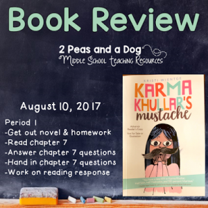 Karma Khullar's Mustache Book Review