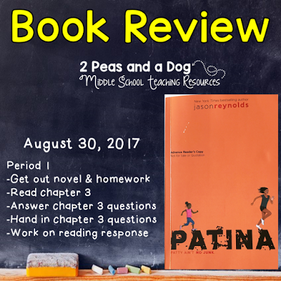 Patina book review from the 2 Peas and a Dog blog.