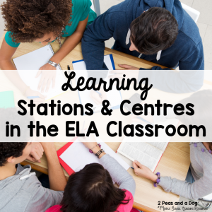 Learning Stations and Centres in the English Language Classroom