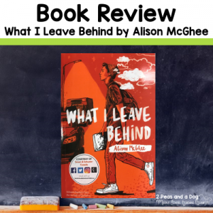 Book Review What I Leave Behind by Alison McGhee