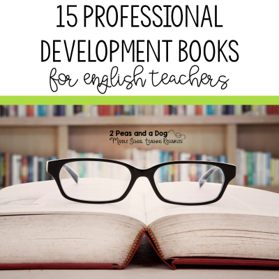 Professional development is an important part of a teacher's career. It is critical that teachers continue learning and do not become stagnant. Here is a list of books that English teachers have been recommending from 2 Peas and Dog. #professionaldevelopment #pd #lessonplans #lessonplanning