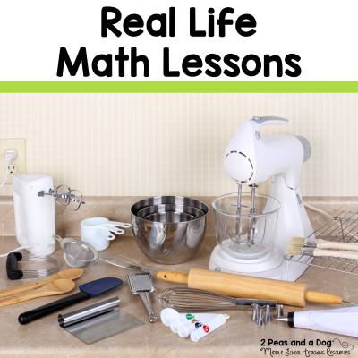 Keep your math class authentic and engaging with these real life math lessons from 2 Peas and a Dog. #math #mathlessons #reallifemath #lessonplans #teacherspayteachers