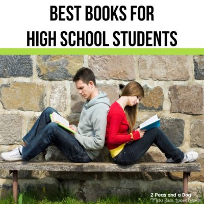 Best books for high school students from the 2 Peas and a Dog blog. #englishlanguagearts #reading #highschool #englishclass #bookreviews