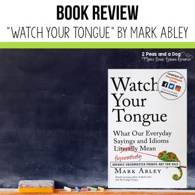 "Book Review of ""Watch Your Tongue"". #bookreview #books"