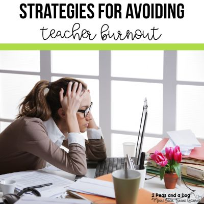 Teacher burnout is real and happens frequently to teachers in any year of teaching. Here is a list of home and school strategies you can try to help you avoid teacher burnout. #teachers #education #teacherburnout #healthyteachers