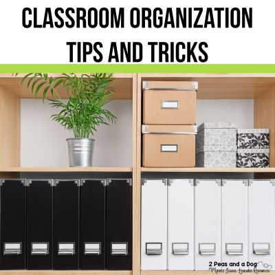 Make the most of your classroom space with classroom set up and classroom organization advice from teachers from 2 Peas and a Dog. #classroom #organization #classroomorganization