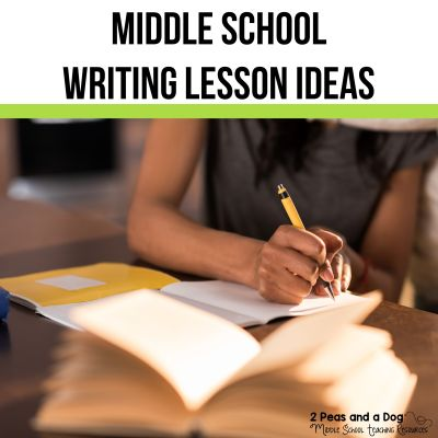 Writing is a pillar of an ELA classroom. Keep your foundation strong with new ideas and inspiration. Find ideas for journal writing, informational and argument writing, writing workshops, student choice writing and more! #writinglessons #lessonplans #middleschool