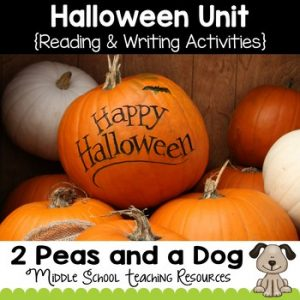 Halloween Lessons for Middle School