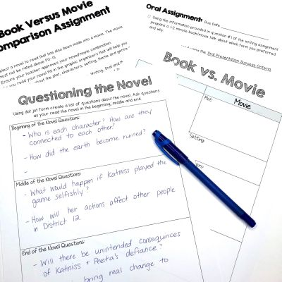 Book vs Movie Assignment