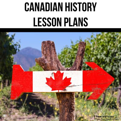 Engaging Canadian history lesson plans for busy teachers and homeschool parents who want quality content for their students and children. #canadianhistory #canadianhistorylessonplans #ontariohistory #canadianlessonplans