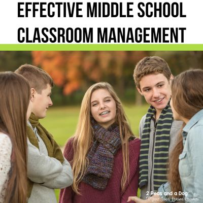 Effective middle school classroom management is key to having a successful teaching experience. Learn how to create a classroom space that has interactive components that engage students. #interactivelearning #classroommanagement #middleschoolela #middleschoolsocialstudies #middleschoolteachers
