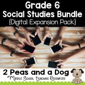 Grade 6 Ontario Social Studies Digital Expansion Pack