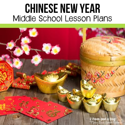 Try these engaging Chinese New Year lesson plans for middle school students from 2 Peas and a Dog.