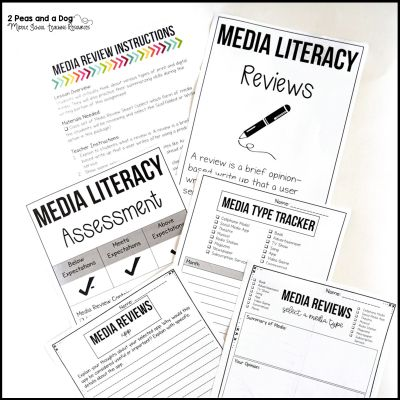 Writing Media Reviews Lesson Plan
