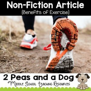Benefits of Exercise Non-Fiction Article