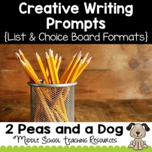 Creative Writing Prompts and Activities