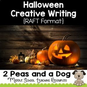 Halloween Creative Writing Assignment