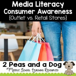 Media Literacy Consumer Awareness Lesson - Outlet vs. Retail