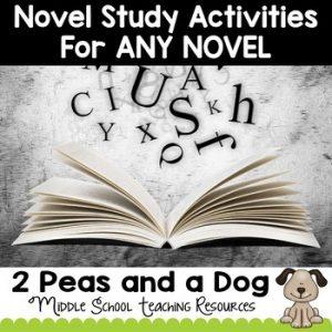 Novel Study Activities For Any Novel