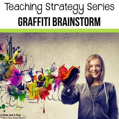 Graffiti brainstorming is great way to activate students' knowledge about a topic of study. Try this teaching strategy with your students.