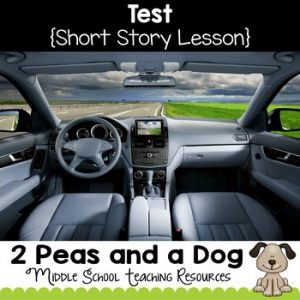 Test Short Story Lesson