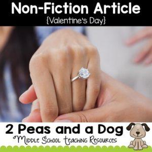 Valentine's Day Non-Fiction Article